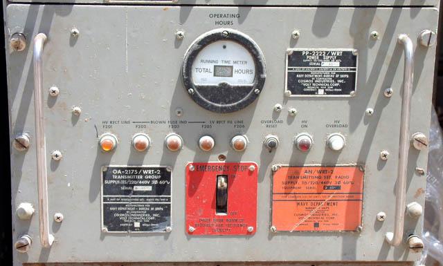 WRT-2 500 Watt US Navy Ship Transmitter