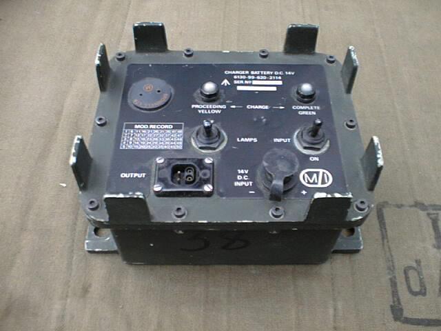 Clansman Battery Charger 14 Volt DCCU