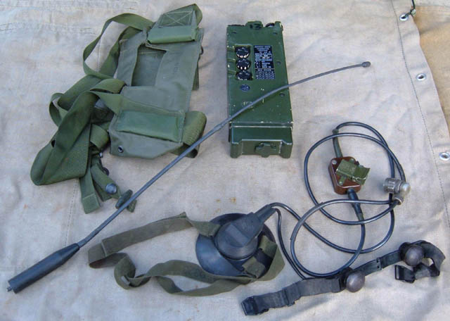 Clansman PRC-349 / RT-349 VHF Transceiver