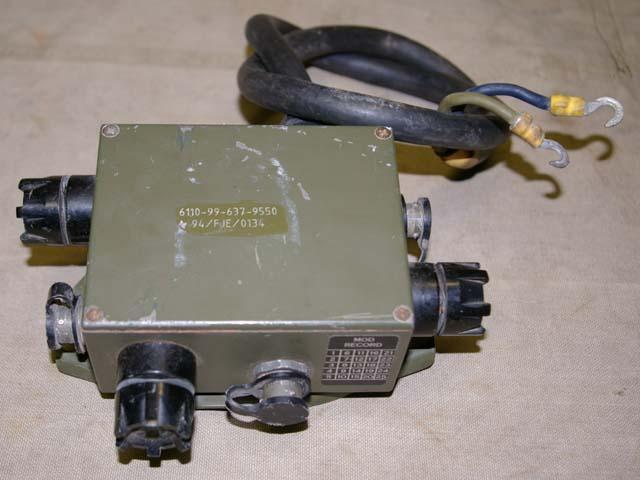 Clansman 3 Way Power Distribution Box