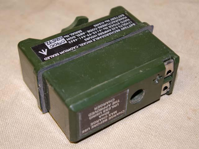 Clansman PRC-349 12 Volt 0.55Ah Rechargeable Battery Pack