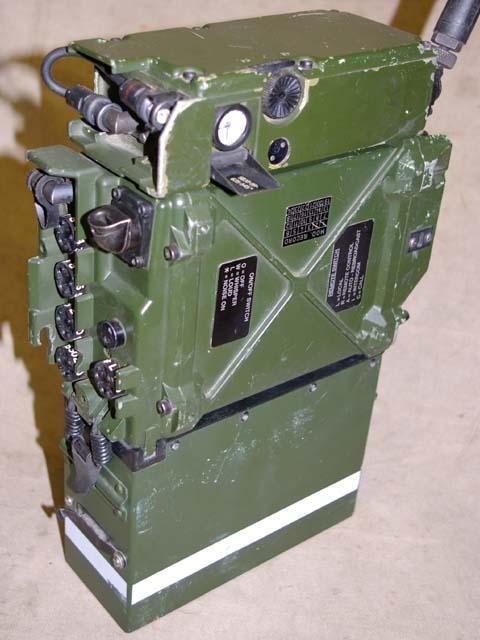 Clansman RT-351 / PRC-351 VHF Man-Pack Transceiver
