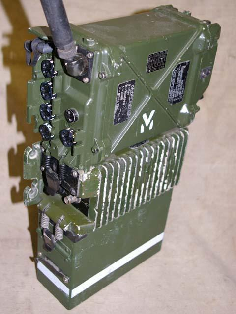 Clansman PRC-352M 20 Watt VHF Man-Pack Transceiver with BID Interface