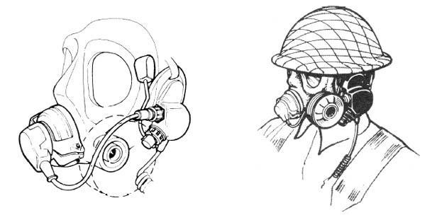 Clansman Respirator Microphone