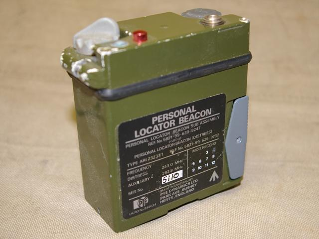 Personal Locator Beacon type ARI23237/1