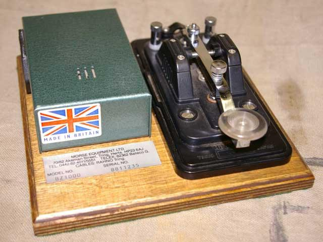 British Army Morse Key Trainer Model BZ-1000
