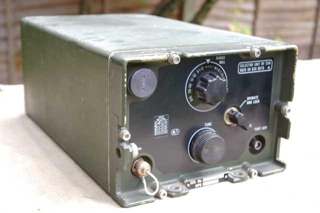 Clansman VRC-321 25 Watt HF Selector Unit SURF