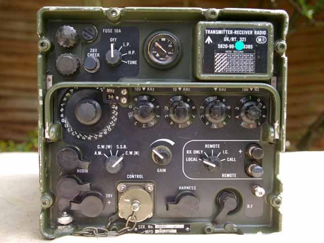 Clansman UK RT-321 / VRC-321 40 Watt HF Vehicle Transceiver
