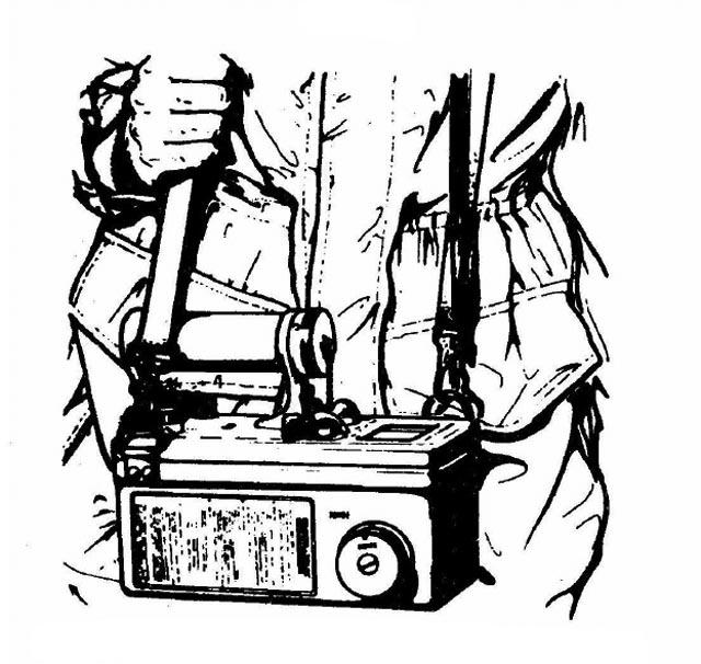 DOM-410 Geiger Counter Plastic Neck Carry Strap