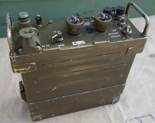 Army Radio Sales Co. :: American Radios :: PRC-77 Back ...
