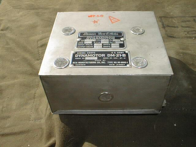 DM-21 Dynamotor for BC-312 / BC-314 WWII Radio Receiver