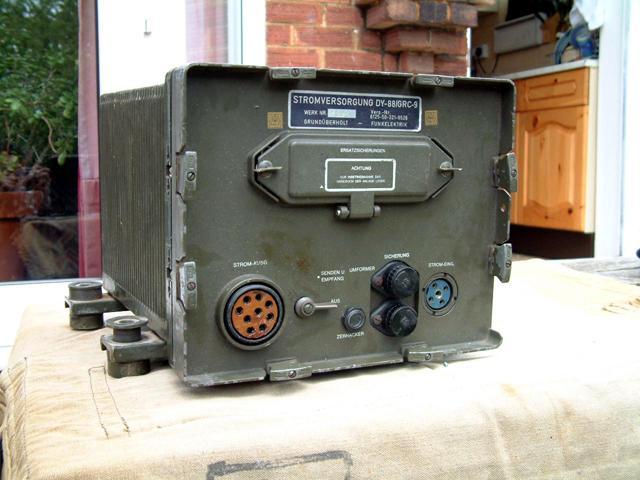 DY-88 Dynamotor Power Supply