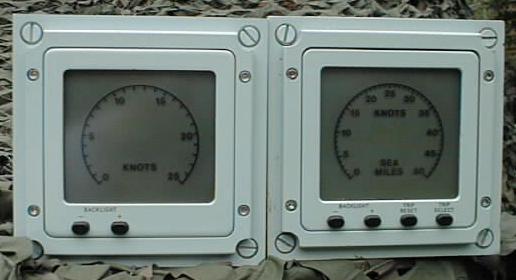 Ships Speed LCD Display