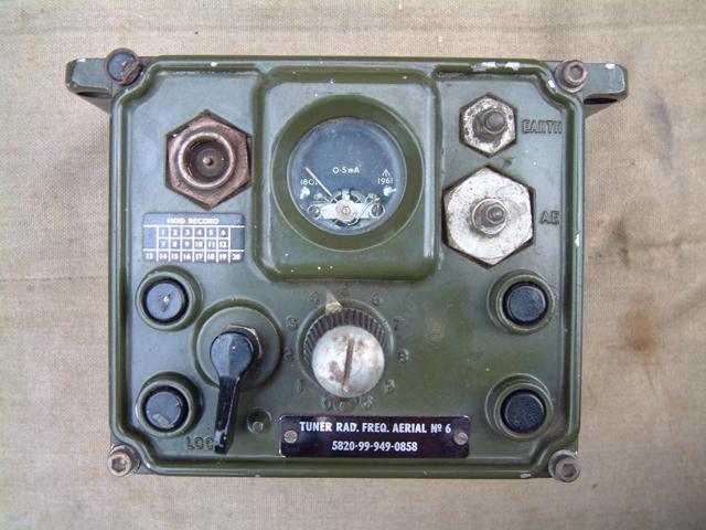 Tuner RF Aerial Number 6