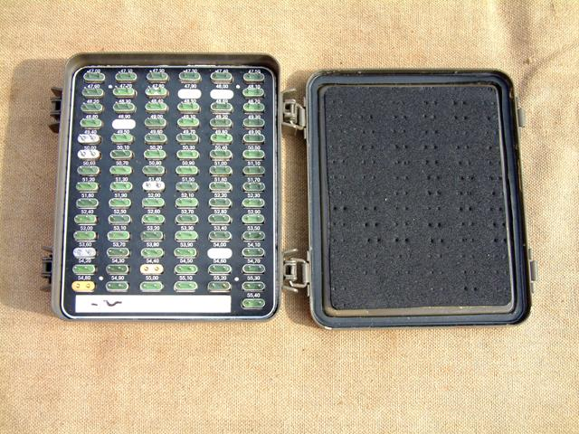 German PRC-6/6 Empty Crystal Storage Box