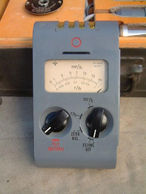 FH-40H Geiger Counter Faulty For Spares