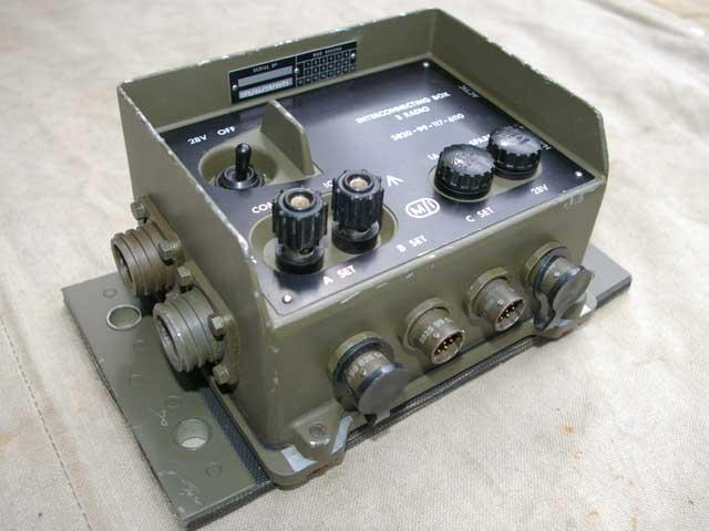 Clansman Interconnecting Box 3-Radio (IB3)