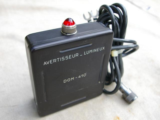 DOM-410 Geiger Counter External Warning Light