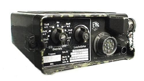 German FSE-38/58 VHF FM Portable Transceiver