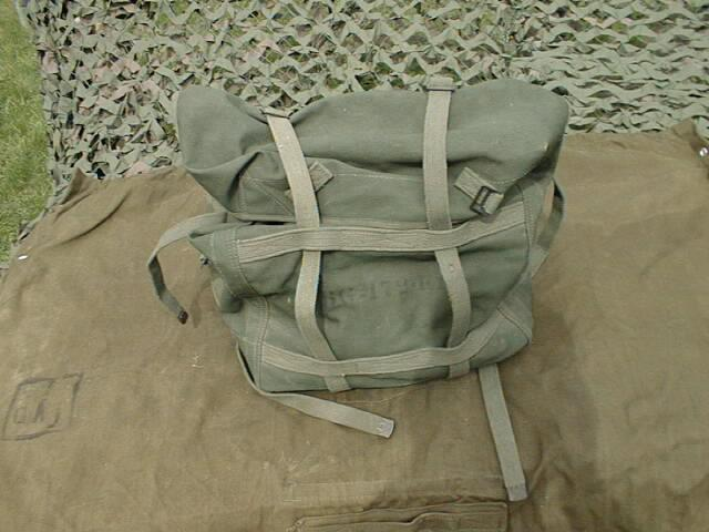 BG-172 Canvas Accessories Bag for GRC-9 and BC-1306