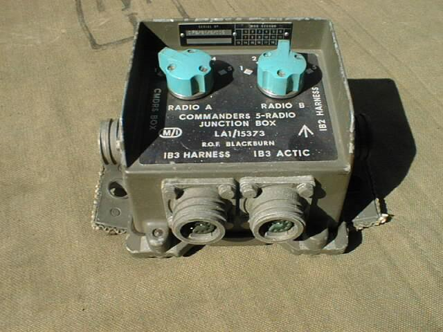 Clansman Commanders 5-Radio Junction Box (C5RJB)