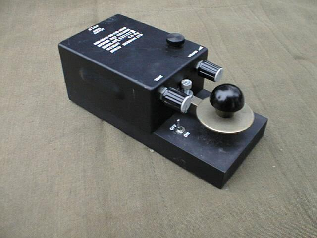 British Army Morse Key Trainer