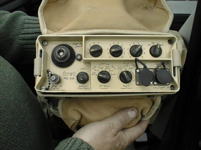 Iraqi PRC-638 VHF Radio From the Gulf War