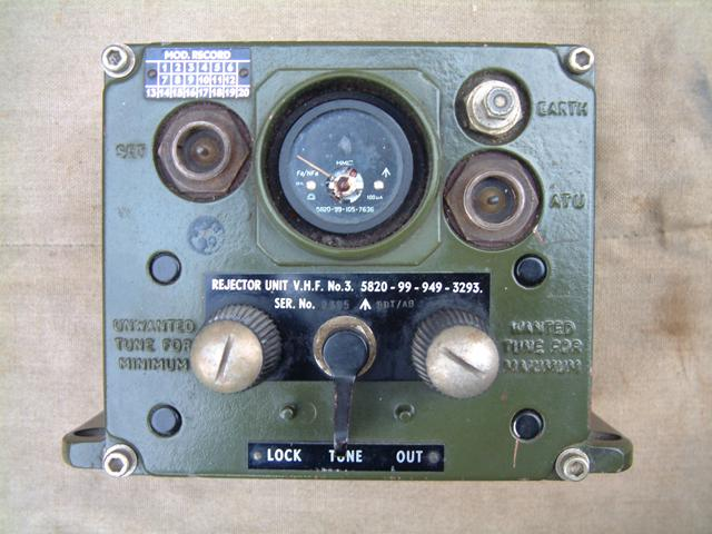 Rejector Unit VHF Number 3