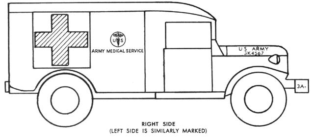 figure 20 ambulance - Ambulance Pictures To Colour