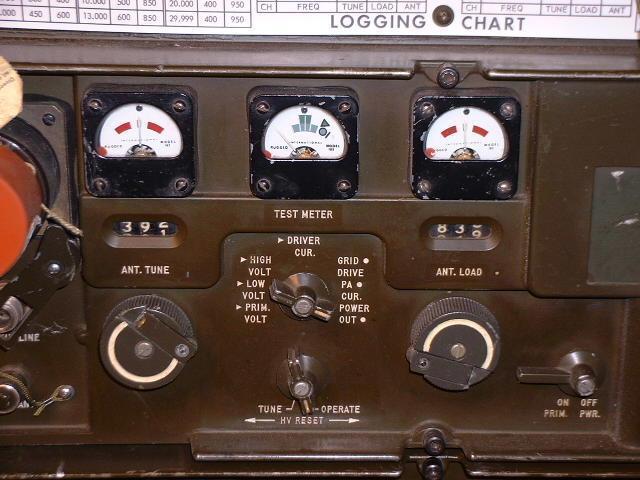 GRC-106 400W SSB Synthesized HF Transmitter - Receiver