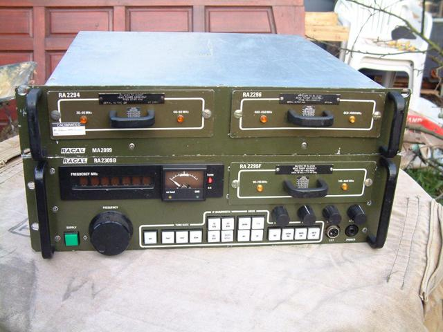 Racal RA-2309B 20-1000MHz Communications Receiver