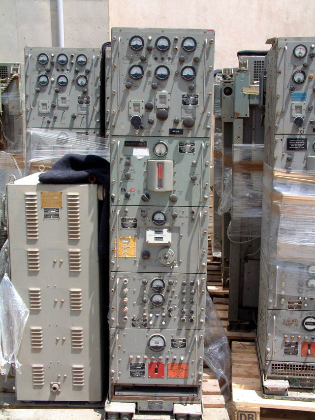 WRT-2 500 Watt US Navy Ship Transmitter