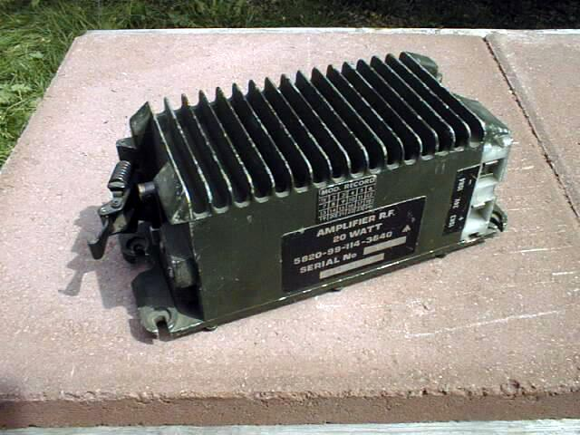 Clansman PRC-351 / PRC-352 20 Watt RF Power Amplifier