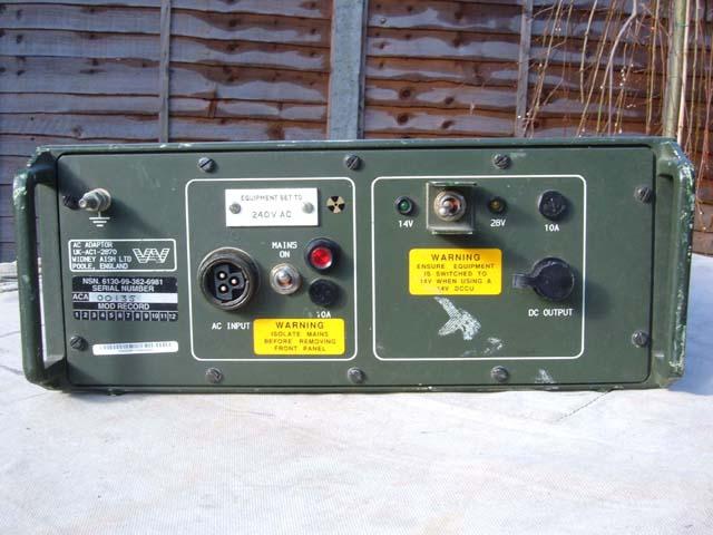 UK-AC1-2870 14/28 Volt AC Adaptor