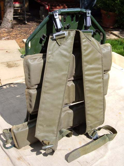 Clansman Light-Weight Carry Frame / Back-Pack for PRC-320,344,351, 352