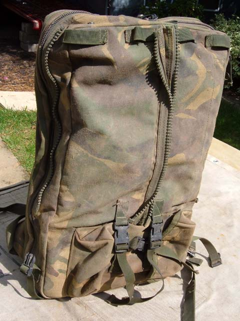 Clansman Soft DPM Man-Pack Radio Ruck-Sack