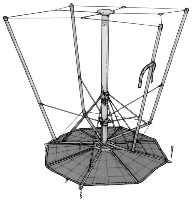 Clansman VHF Ground Mounted Monopole