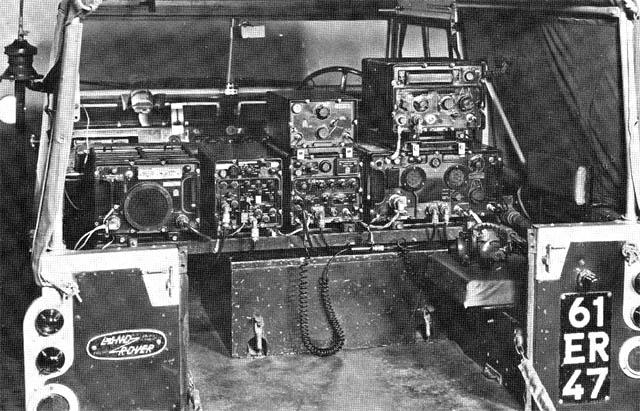 Clansman UK VRC-322 250 Watt HF Vehicle Radio Station