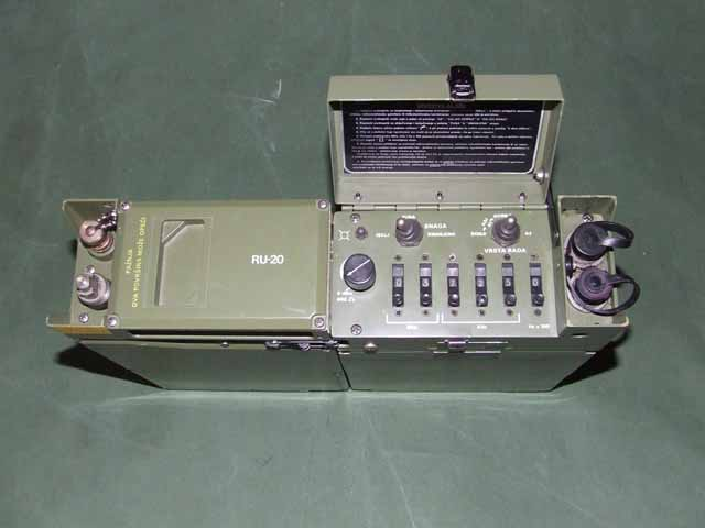 Collins PRC-515 / RU-20 Yugoslav Peoples Army HF/SSB Radio Station