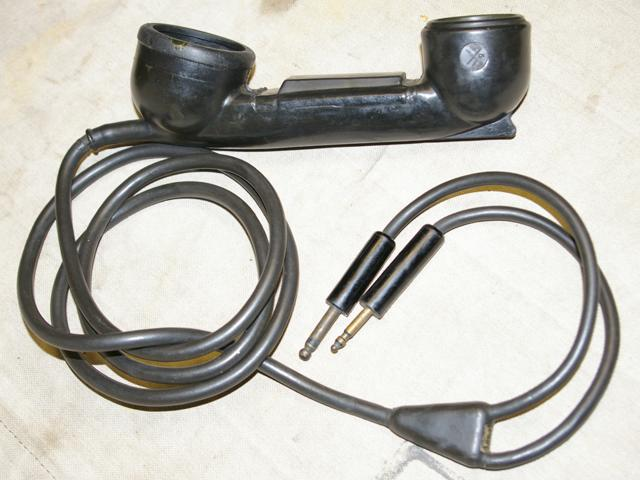 TS-15 Handset for BC-1000 Radio Set