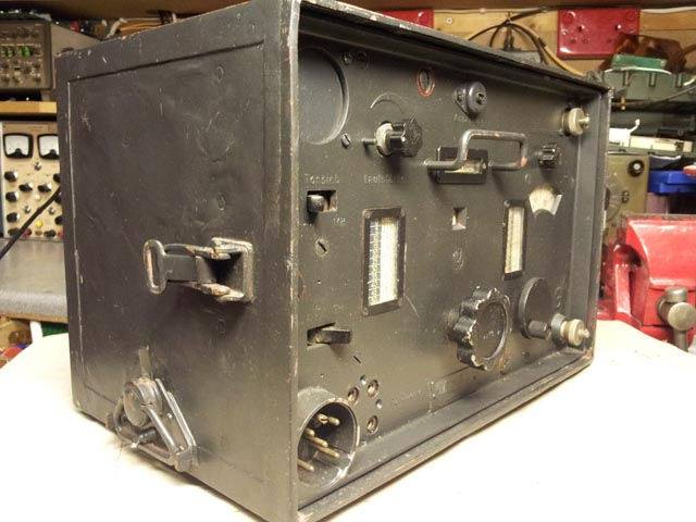 Tornister Empfanger B Torn Eb German WWII Receiver & Battery Box