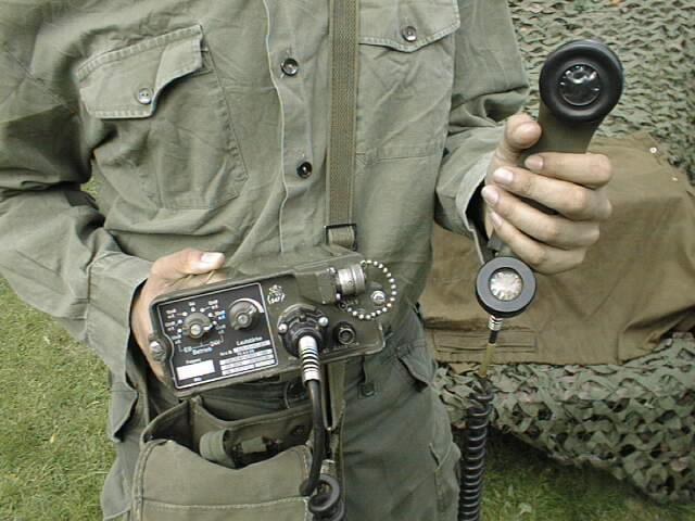 German FSE-38/58 VHF FM Portable Transceiver