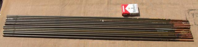 Vehicle Antenna Rod Set for Landrovers & Jeeps (Same as MS-116, MS-117 & MS-118 Antenna Rods)