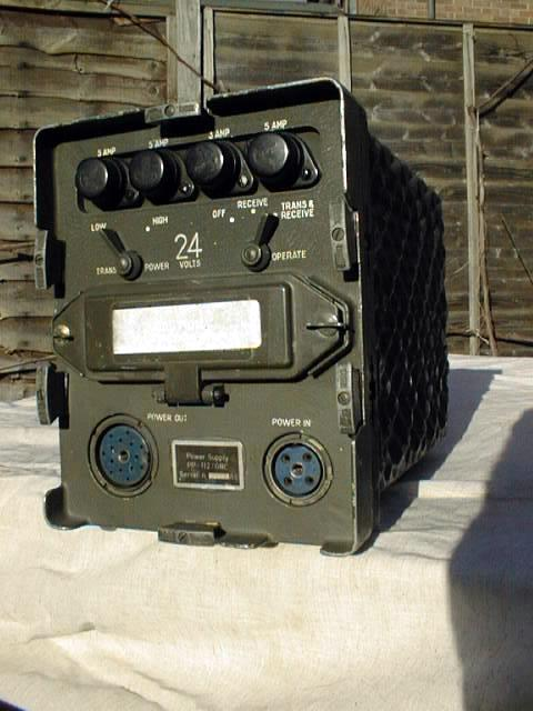 PP-112/GRC 24 VDC Supply