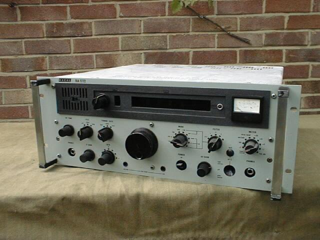 Army Radio Sales Co  :: Our Museum Items :: Racal RA-1772 HF
