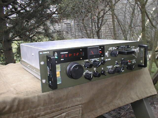 Racal RA-2091 20-400 Mhz VHF Communications Receiver