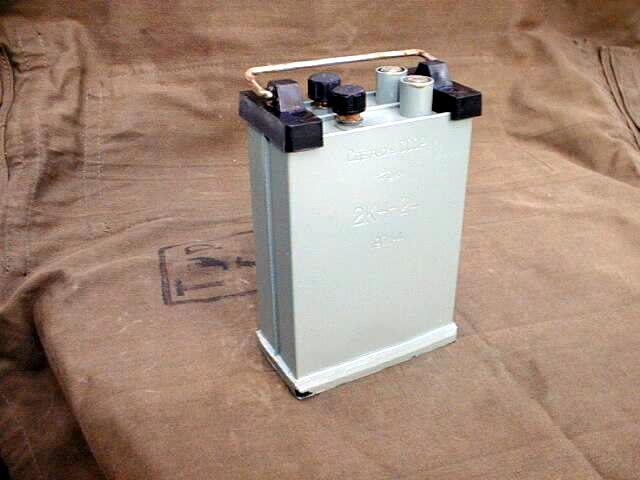 Russian KH-24 - 2NK24 - 2.5 Volt 24Ah Nickel Iron Battery