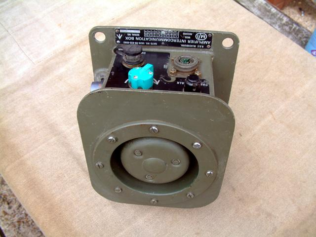 Clansman Amplifier Intercommunications Box (AIB)