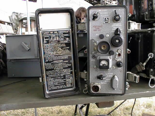 Russian P-105M Receiver/Transmitter