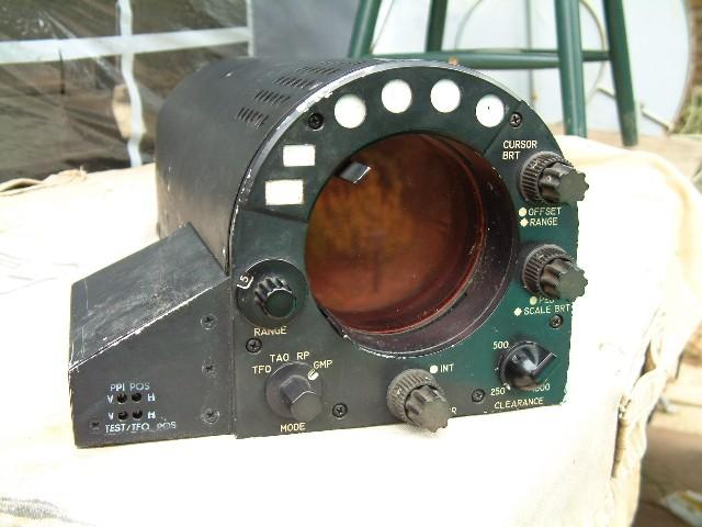 IP-710/APQ-99 Phantom Fighter Jet Radar Indicator